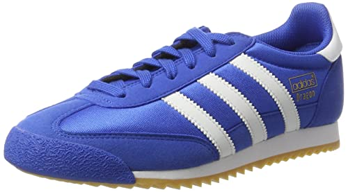 adidas Originals Men's Dragon Og Low-Top Sneakers, (Blue/Footwear White/