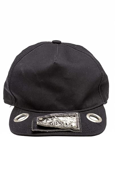 Diesel Gorra de Visera, Color: Negro, Tamaño: One Size: Amazon.es: Ropa y accesorios