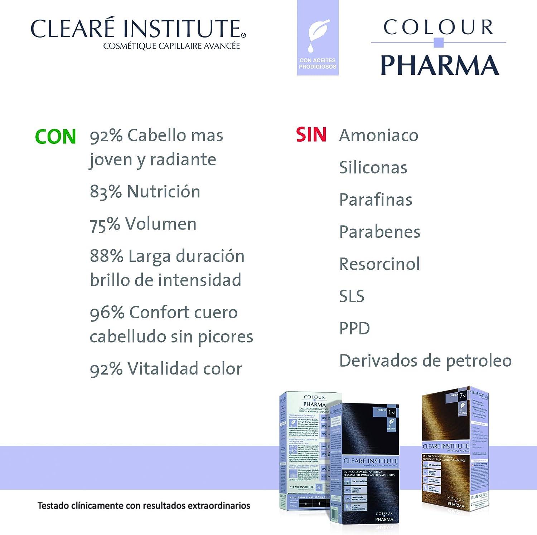 Colour Pharma| Tinte Sin PPD ni Amonicaco | Coloración Antiedad | 100% Cobertura de Canas Rebeldes, Con Serum Redensificante | 6D. Rubio Oscuro Dorado ...