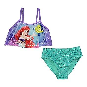 Amazoncom Disney The Little Mermaid Swimsuit Infant Girls Aqua