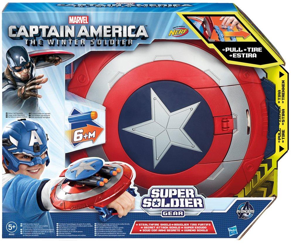 Captain America 2 Super Solder Gear - Stealth Fire Schutzschild [UK Import]