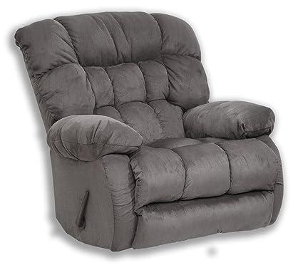 Sensational Catnapper Teddy Bear Swivel Glider Recliner Graphite Creativecarmelina Interior Chair Design Creativecarmelinacom