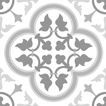Floorpops Fp2953 Remy Peel Stick Floor Tiles Grey Amazon Com