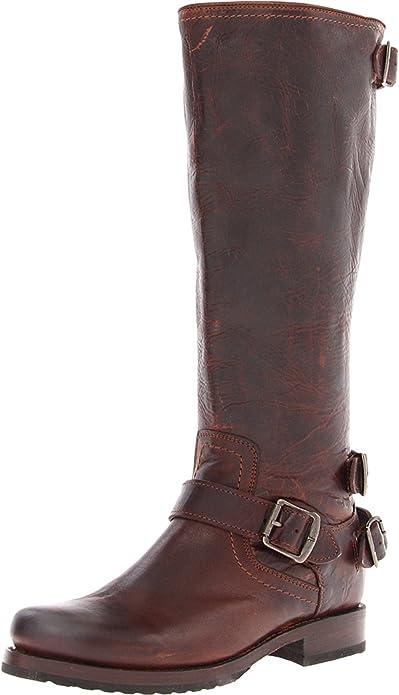 cb2c4b8e6de8 Frye Women s Veronica Back-Zip Boot  Amazon.ca  Shoes   Handbags