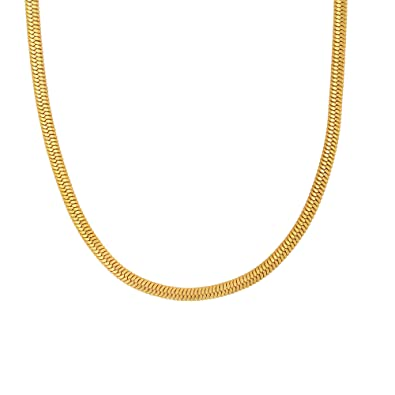 73a5ff9010768 Memoir Gold Plated 4mm Broad Super Long, 36 Inch Superfine Finish ...