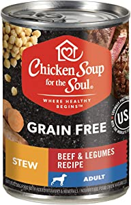 Chicken Soup for The Soul Grain Free Adult Wet Dog Food