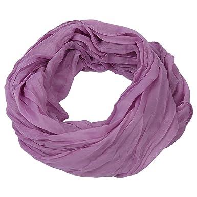 SODIAL Echarpe retro Boheme Echarpe en coton et lin longue a couleur ...