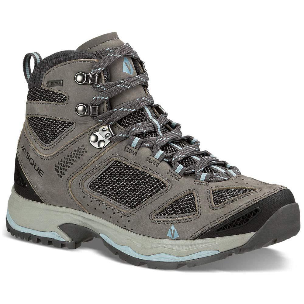 Vasque Women's Breeze Iii Gtx Hiking Boots, Gargoyle/Stone Blue 8.5 by Vasque