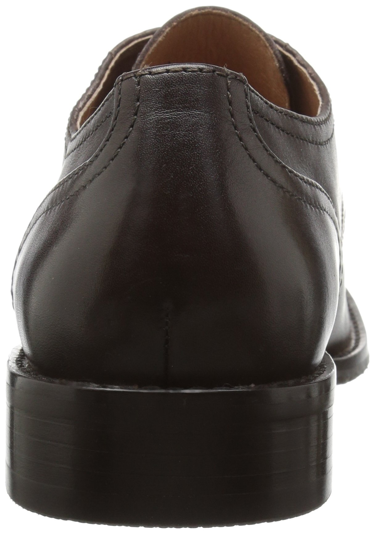 206 Collective Men's Concord Plain-Toe Oxford Shoe, Chocolate Brown, 11 D US by 206 Collective (Image #2)