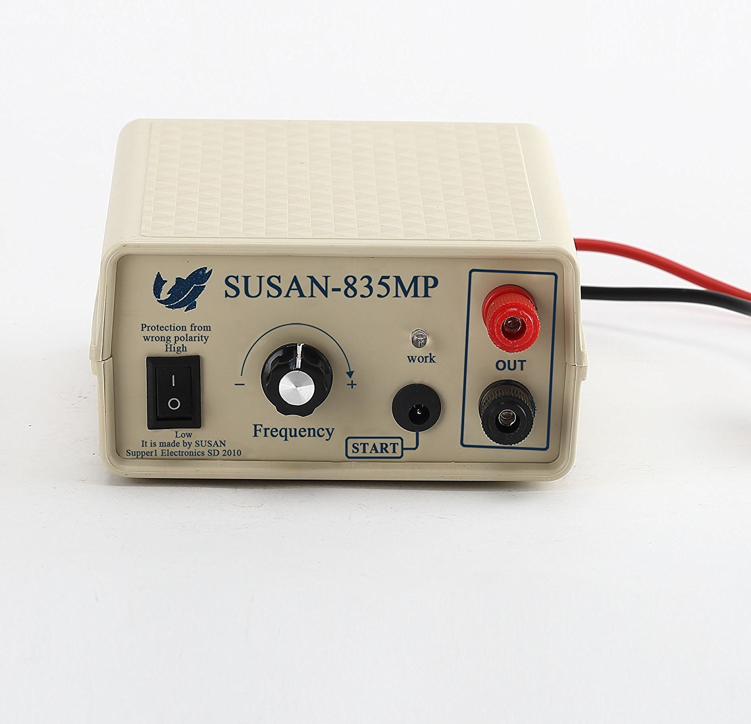 SUSAN 835MP Ultrasonic Inverter Electro Fisher Fishing Machine,Fish Shocker, Fish Stunner