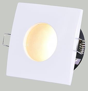 Ultra flacher 3,5cm Badezimmer Einbaustrahler DORI IP44 ...