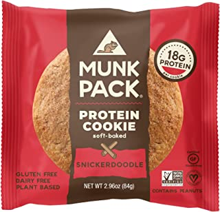 product image for MUNK PACK Snickerdoodle Protein Cookie, 2.96 OZ