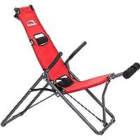 Backlounge | 2-in-1 rug inversietrainer | Inversiebank | Rekken en Strekken van de wervelkolom | Tot 110 kg dynamisch…