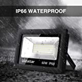 Ustellar 2 Pack 60W LED Flood Light, IP66