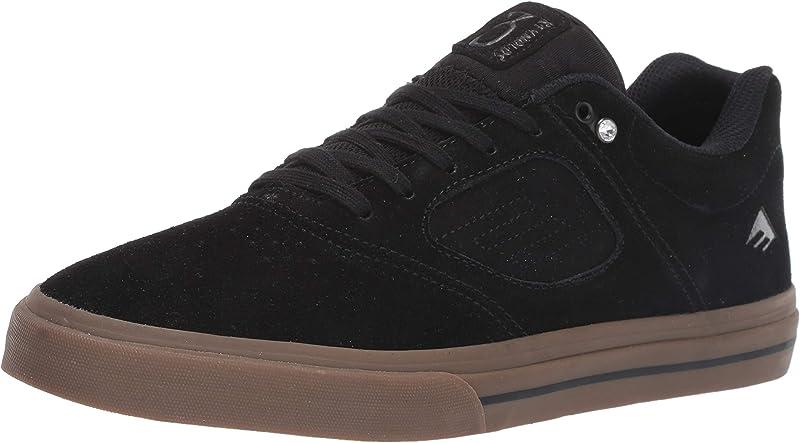 Emerica Reynolds 3 G6 Vulc Sneakers Herren Schwarz/Kautschuk (Gum) Größe 36 1/2 – 48