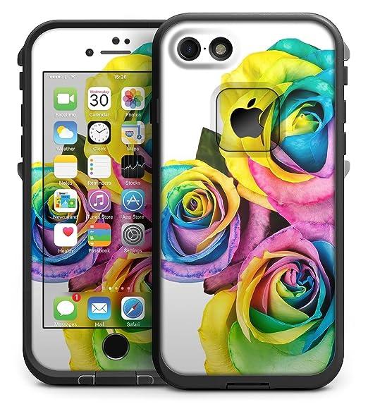 8da29a861bc510 Amazon.com: Rainbow Dyed Roses - Skin Kit for the 4.7