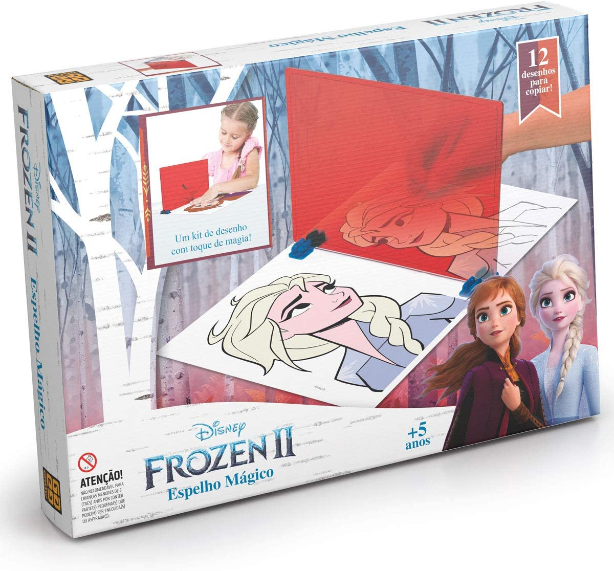 Espelho Mágico Frozen