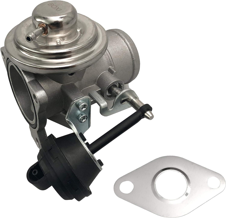 BOXI EGR Exhaust Gas Recirculation Valve with Gasket Fits 1998-2004 Volksagen Beetle / 1999-2004 Volksagen Jetta Golf TDI 1.9L Diesel 045131501L EGV1079