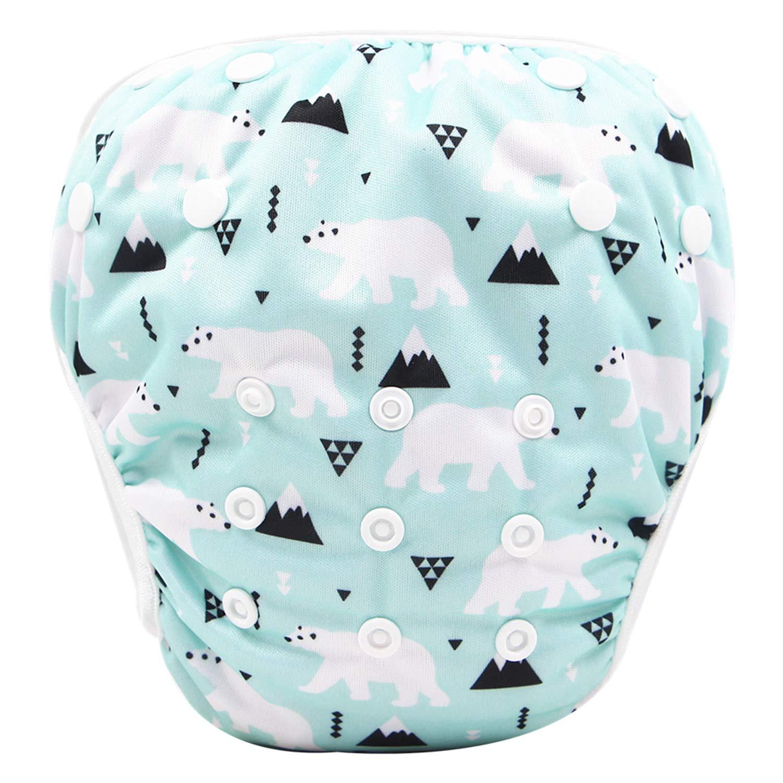 Storeofbaby Reusable Baby Swim Diaper Waterproof Pool Pant for Little Swimmer