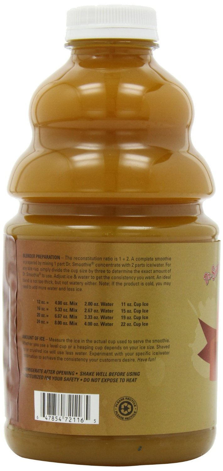 Dr. Smoothie Classic Mango Tropics Blends Smoothie Concentrate 46oz. 3 pack by Dr. Smoothie