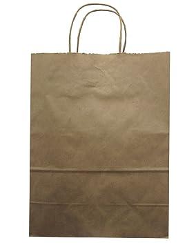 Jillson Roberts grandes bolsas de papel Kraft reciclado ...