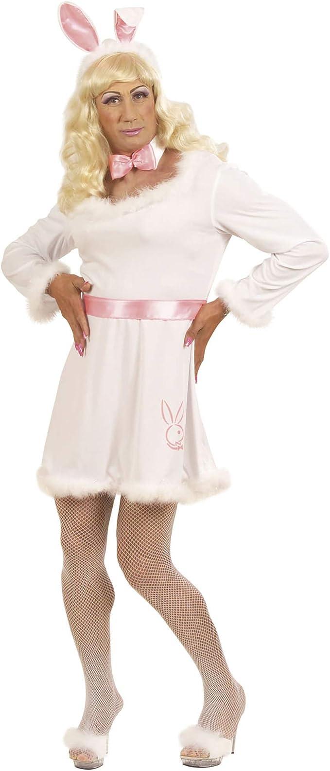 WIDMANN Disfraz de drag queen conejita para hombre: Amazon.es ...
