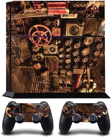 Engine Room Print PS4 PlayStation 4 Vinyl Wrap / Skin / Cover / Pegatina para Sony PlayStation 4 Console y PS4 Controllers: Amazon.es: Hogar
