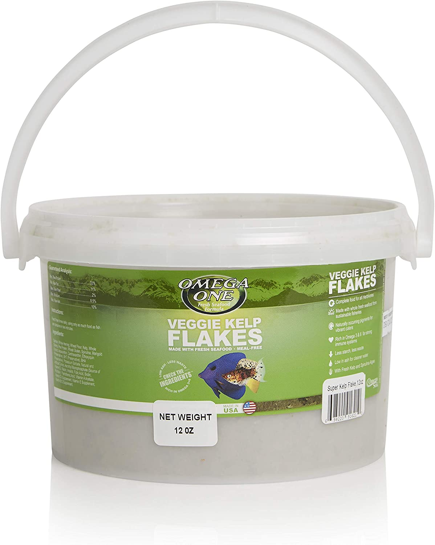 Omega One Veggie Flakes with Kelp