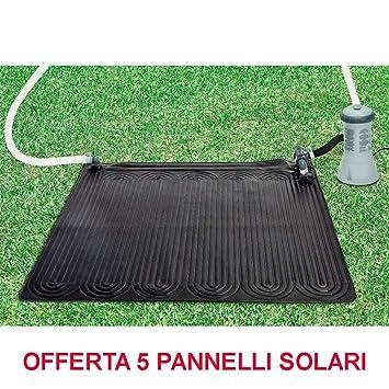 PERAGASHOP Oferta 5 Paneles Panel Solar Calentador Agua ...