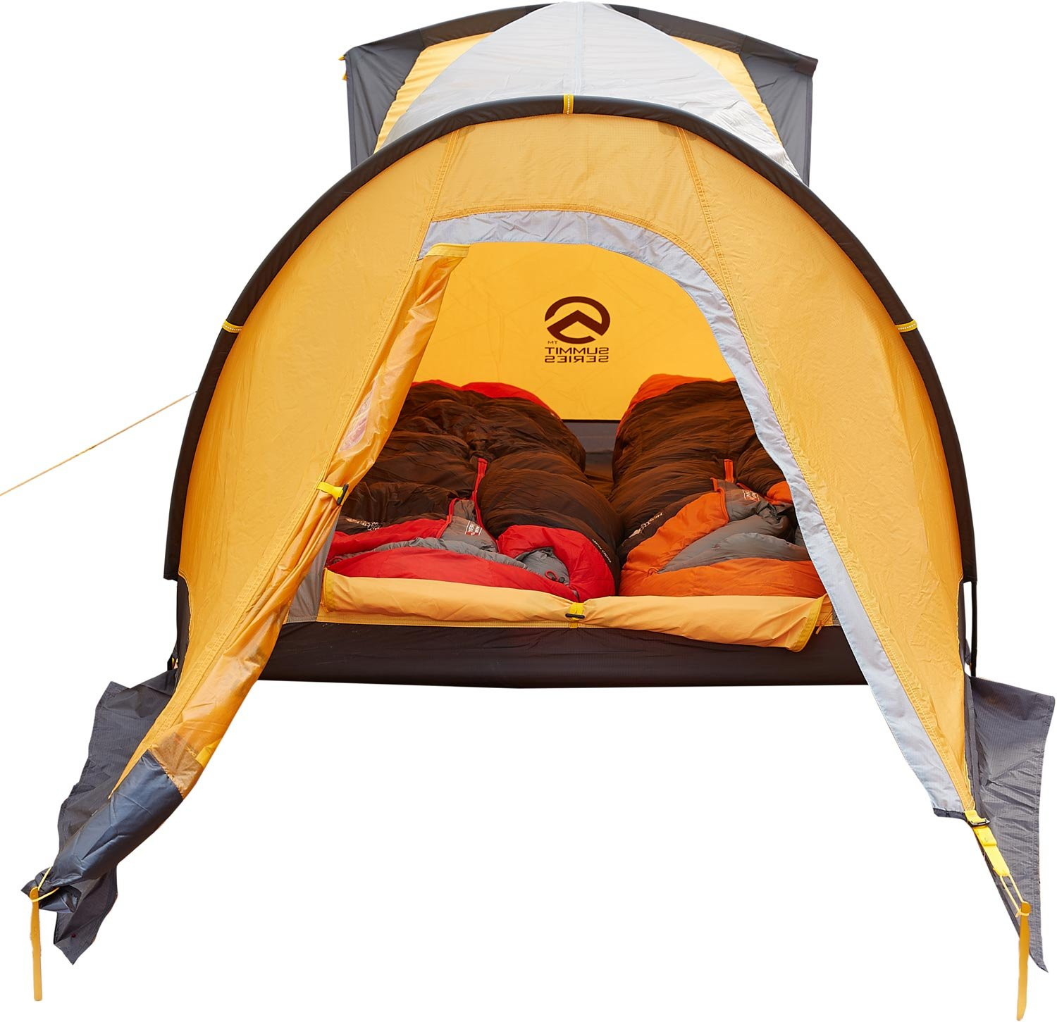 The North Face Summit Series Assault 2 Tent Summit Gold/Asphalt Grey by The North Face (Image #4)