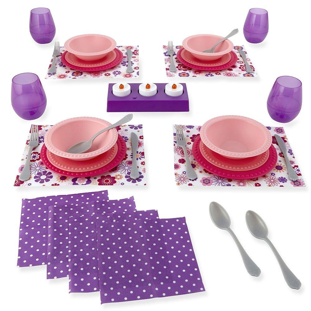 Just Like Home Dinner Set Toys R Us