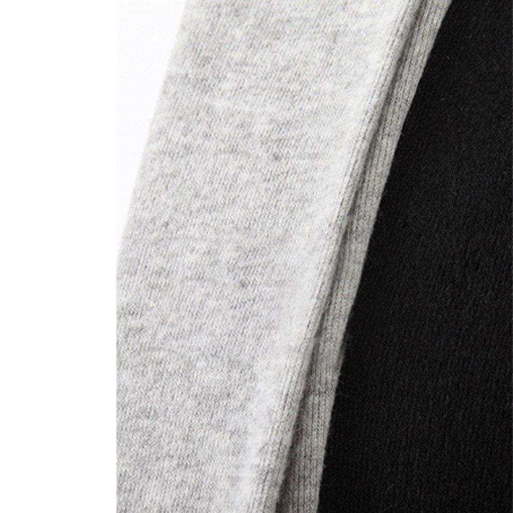 Amazon.com: Charberry Clothes for Men Fake Two-Piece Sweater Slim Stylish Fashion Cardigan Long Sleeve Jacket: Clothing
