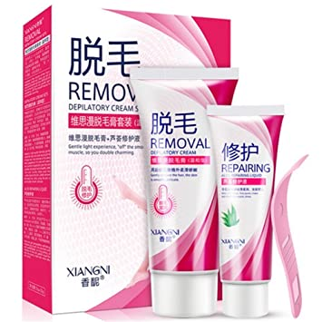 Buy Permanent Hair Removal Set Cream Women Men Cream Hair Remover