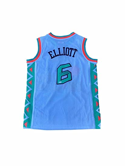 Image Unavailable. Image not available for. Color  Sean Elliott Autographed  Jersey ... 712aaa166