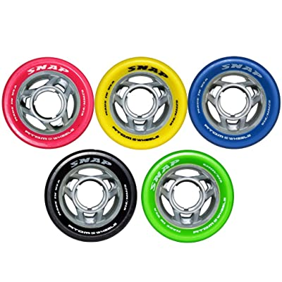 Atom Snap Quad Roller Derby Speed Skate Wheels : Sports & Outdoors