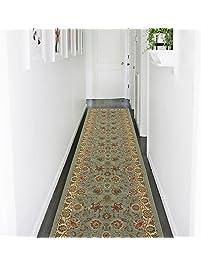 Ottomanson Ottohome Collection Persian Style Oriental Design Non Skid  Rubber Backing Area Rug Hallway Runner