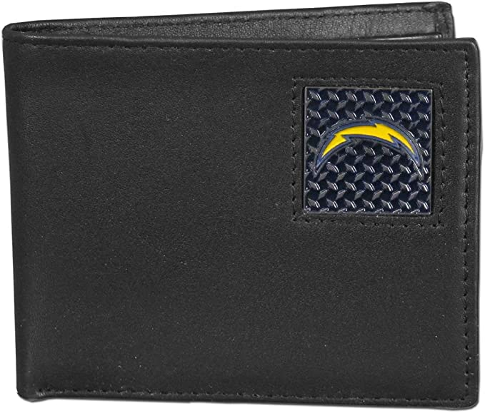 NFL San Diego Chargers Gridiron Leather Tri-Fold Wallet