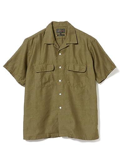 Coolmax Short Sleeve Camp Shirt 11-01-1072-139: Olive