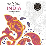 Vive Le Color! India (Adult Coloring Book): Color In; De-stress (72 Tear-out Pages)