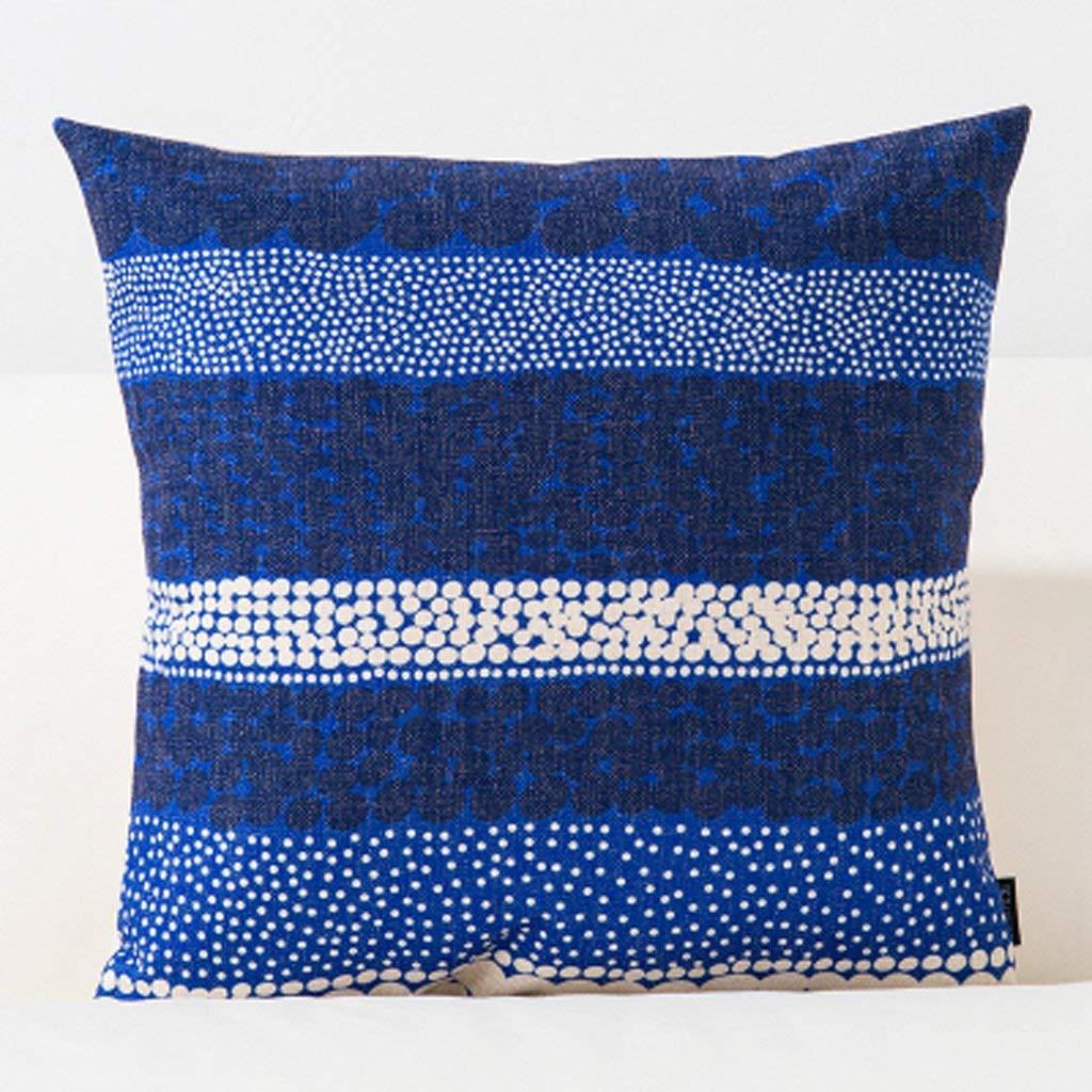 Polymer Soft Pillow 45X45Cm Square Modern Creative Sofa Cushion Office Bedside Cushion XXPP