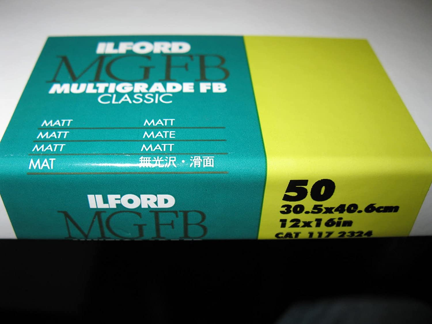 Multigrade FB Classic Matt Variable Contrast Paper 12 x 16, 50 Sheets