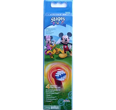 Oral-B Stages Power Kids de Mickey Mouse - Cepillo de dientes ...