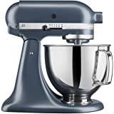 KitchenAid KSM150PSBS Artisan Series 5-Qt. Stand Mixer with Pouring Shield- Blue Steel