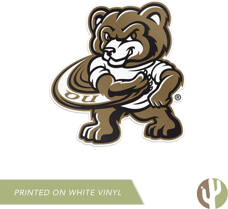 Sticker - 00005 Oakland University Golden Grizzlies NCAA Vinyl Decal Laptop Water Bottle Car Scrapbook