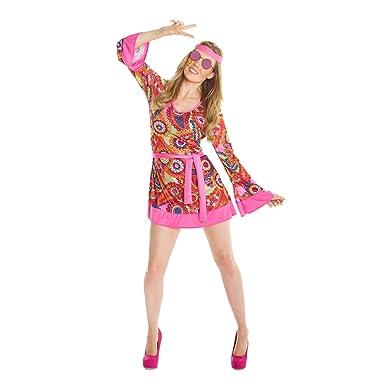 sc 1 st  Amazon.com & Amazon.com: Womens 1960s Flower Child Hippie Costume Costume: Clothing