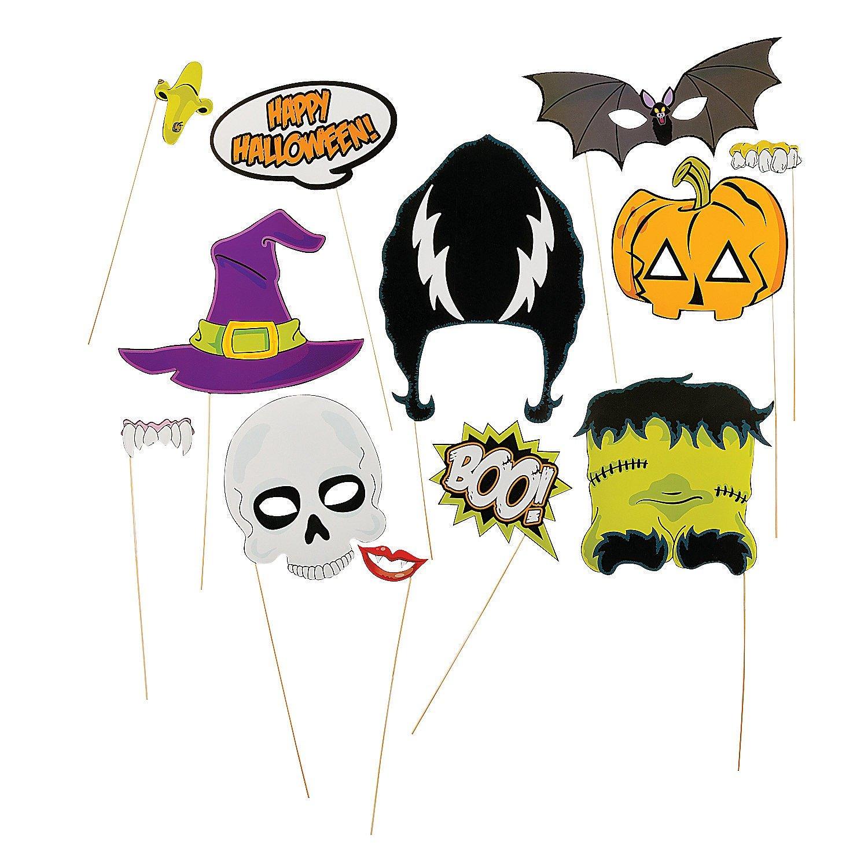 Halloween Stick Photo Booth Props (1 Dozen) 10