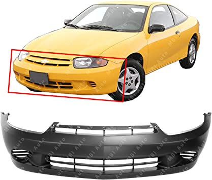 amazon com mbi auto primered front bumper cover fascia for 2003 2004 2005 chevy cavalier base ls w out fog 03 04 05 gm1000662 automotive mbi auto primered front bumper cover fascia for 2003 2004 2005 chevy cavalier base ls w out fog 03 04 05 gm1000662