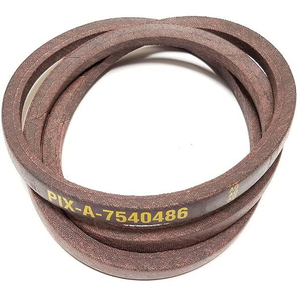 "MTD OEM 46/"" Deck Drive Belt 954-0486A Bolens 754-0486A Troy-Bilt,Yard-MAN"