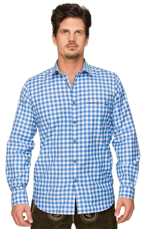 Trachtenhemd Mitchel azur