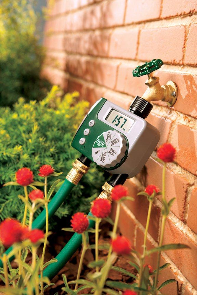 Amazon.com : Orbit 58910 2-Outlet Programmable Hose Faucet Timer ...